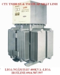 3 Phase Voltage Stabilizer Oil Lioa 400kva