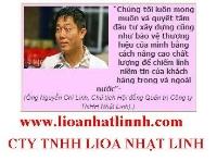LIOA NHẬT LINH THÀNH CÔNG TRONG NHỨNG BƯỚC ĐI CỦA ÔNG CHỦ LIOA NGUYỄN CHÍ LINH !