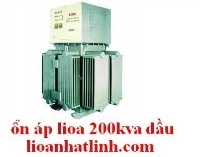 3 phase voltage stabilizer oil Lioa 200kva