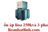 3 Phase Voltage Stabilizer Oil Lioa 250kva